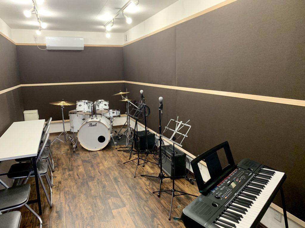 音楽スタジオ室内
